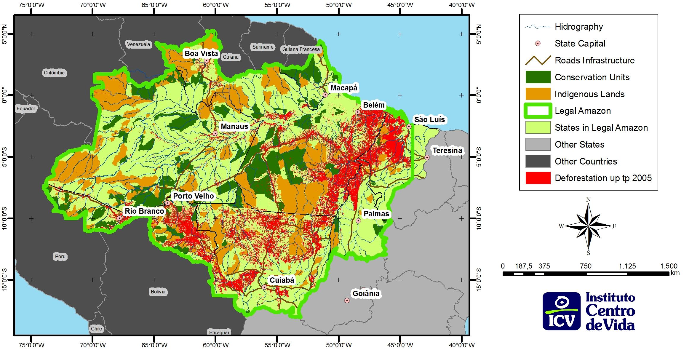 Carte Bresil Climat.Wp7 6 Brazil Mato Grosso